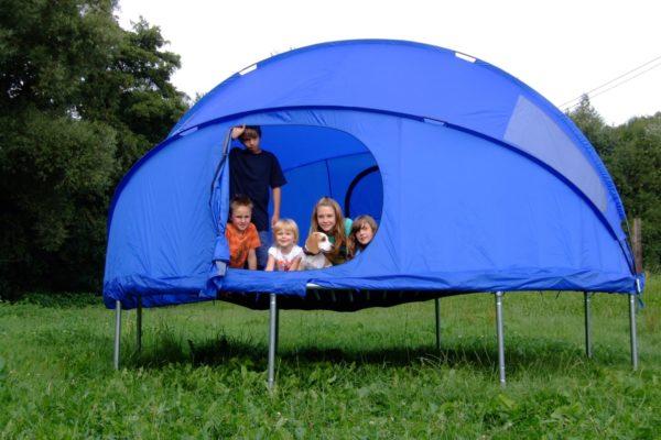 Zelt für Trampolin