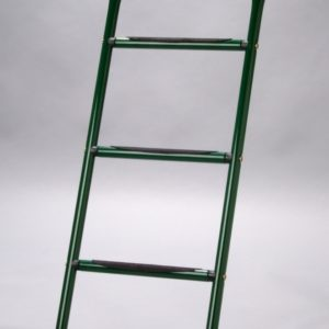 Grüne Trampolin-Leiter